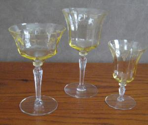 Crystal Ball Article Deauville Stemware With The Same